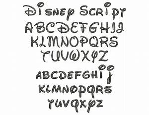 7 Best Images Of Disney Letters Font