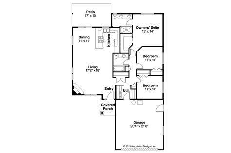 small home floor plans traditional house plans alden 30 904 associated designs