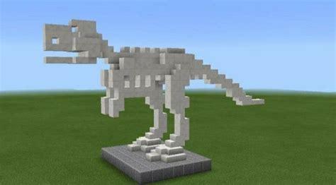 minecraft  rex bones minecraft dinosaur minecraft