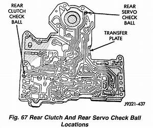 I Need The Check Ball Locations For A 47re Transmission