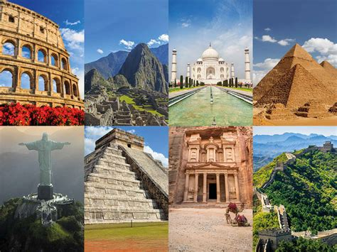 Can You Visit All 7 New Wonders Of The World In A Single