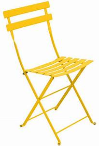 Chaise Bistro Fermob : chaise bistro fermob jaune made in design ~ Melissatoandfro.com Idées de Décoration