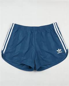 Adidas Trefoil Design Adidas Originals Football Shorts Core Blue Retro Shiny