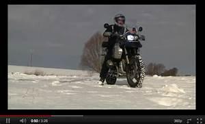 Pneu Neige Moto : test pneu neige avec une moto bmw mega tuto tous les ~ Melissatoandfro.com Idées de Décoration