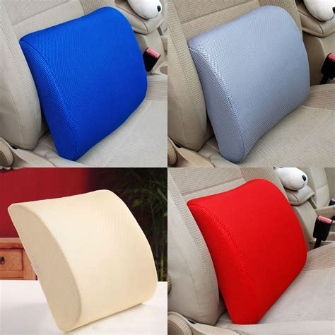 car office home memory foam seat chair lumbar back support