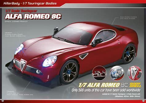 Killerbody Alfa Romeo 8c 17  Rc Cars, Rc Parts And Rc