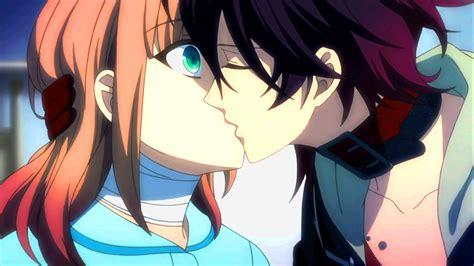 amnesia anime shin and heroine kiss amnesia heroine and shin kiss by shirojolly on deviantart