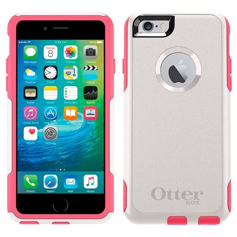 15811 otterbox for iphone 6 otterbox 174 iphone 6 6s plus commuter pink target 15811