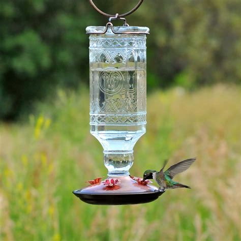 pets hummingbird feeders pet 8118 2 glass antique bottle