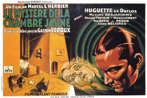 film le myst 232 re de la chambre jaune 1930