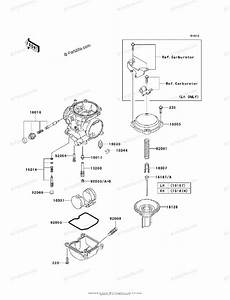 Kawasaki Motorcycle 2010 Oem Parts Diagram For Carburetor