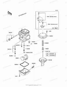 Kawasaki Motorcycle 2010 Oem Parts Diagram For Carburetor  Parts