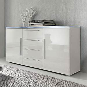 Sideboard Hängend Weiß Hochglanz : california sideboard f r ein modernes heim home24 ~ Watch28wear.com Haus und Dekorationen