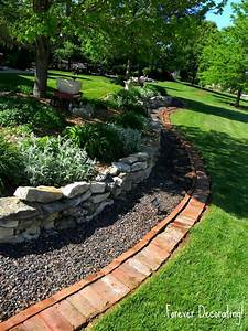 Rock-flower-bed-borders-for-park