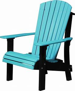 LuxCraft Poly Royal Adirondack Chair Comfort Height