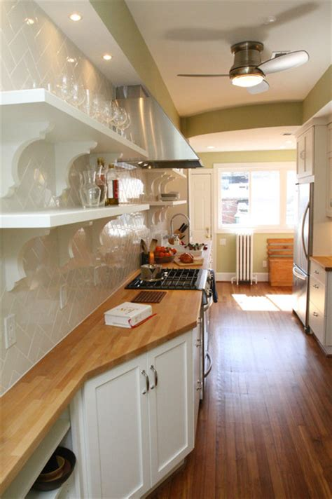 galley kitchen traditional kitchen dc metro   brothers llc