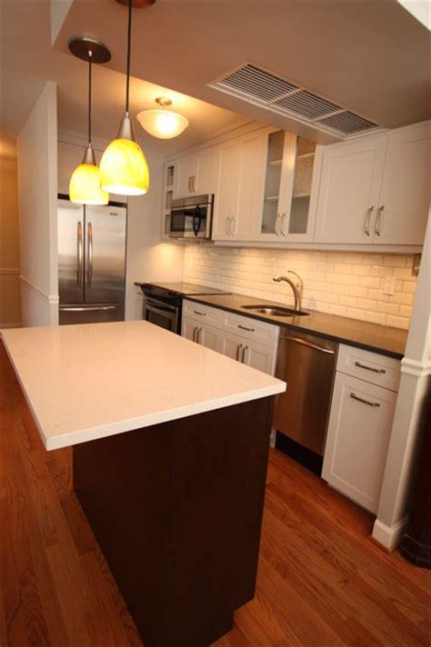 Small Gold Coast Condo Kitchen Remodel  Contemporary