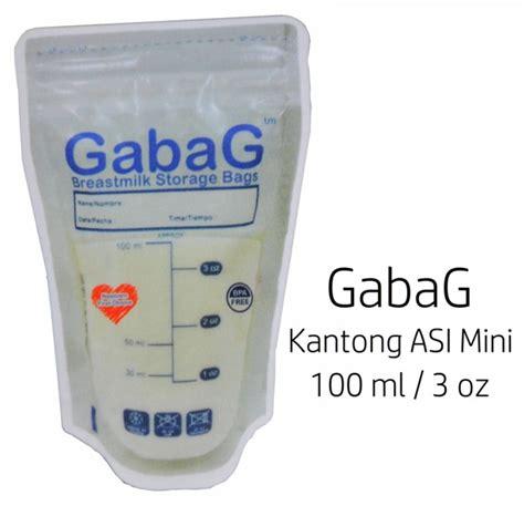 gabag kantong asi 100ml blue gabag kantong asi mini 100ml efisien dan murah di asibayi