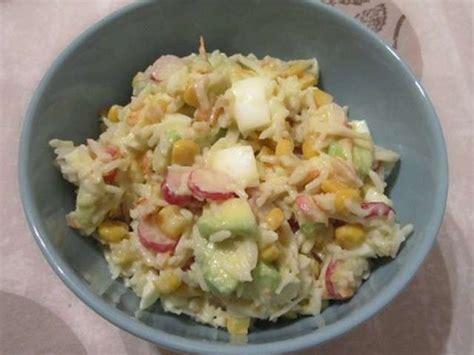 recettes de salade de riz de dans la cuisine de maggy