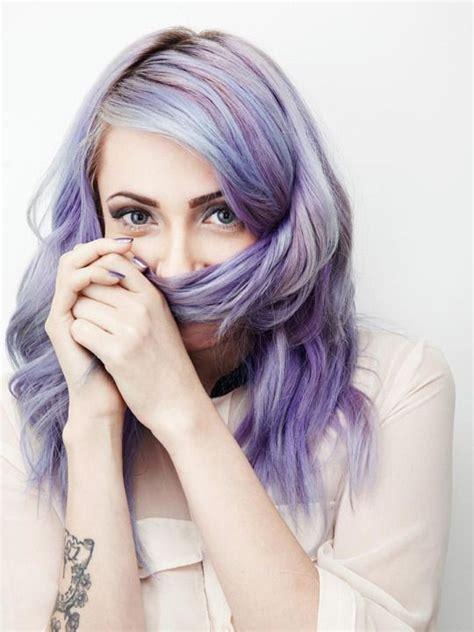 blue eyes color hair girl lilac hair purple hair violet hair hair color purple hair