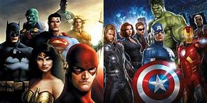 Why, The, Justice, League, Would, Beat, The, Avengers, -, Daily, Superheroes