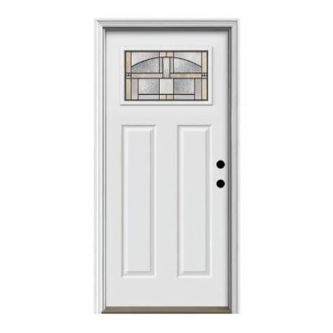 steel entry door home depot jeld wen craftsman portage primed primed steel prehung