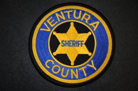 Ventura County Sheriff Patch, California (Current Issue ...