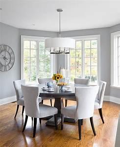 25, Elegant, And, Exquisite, Gray, Dining, Room, Ideas