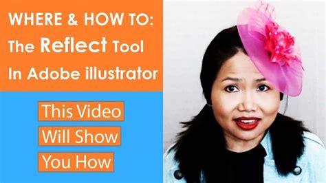 reflect tool  adobe illustrator cc