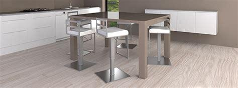 table ilot cuisine haute table haute îlot central mange debout mobilier moss