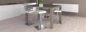 Mange Debout Extensible : table haute lot central mange debout mobilier moss ~ Teatrodelosmanantiales.com Idées de Décoration