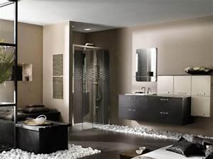 salle de bain zen pour une detente optimale With salle de bain bois zen