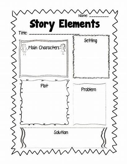Graphic Story Reading Response Elements Printable Worksheets