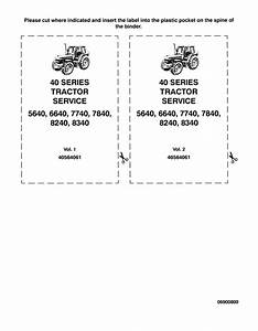 New Holland Ford 5640 6640 7740 8240 8340 Tractors Pdf Manuals