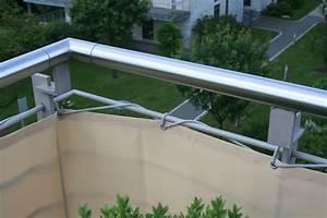 Sichtschutz Stoff Mit Ösen : balkonverkleidungen komplett gen ht mit sen inkl montagematerial ~ Eleganceandgraceweddings.com Haus und Dekorationen