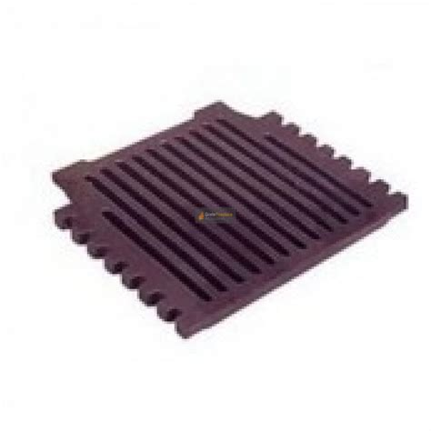 18 Inch Grant Triple Pass Fire Grate Flat Cast Iron