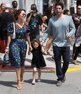 David Schwimmer, Zoe Buckman and their daughter Cleo ...