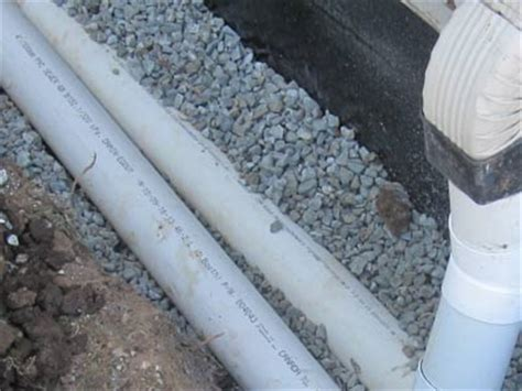 Perforated Drain Tile Pipe by Perforated Drain Tile Installation