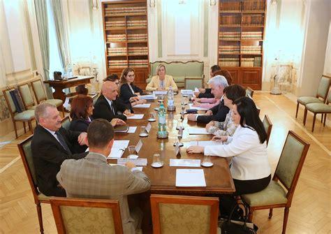 Il Ministro Degli Interni Viminale Incontro Ministro Minniti Con Il Ministro
