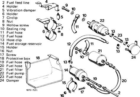 1985 Mercede Fuel System Diagram by 450 Sl Fuel System March 2012