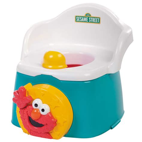 Elmo Potty Seat And Stool by Elmo 3 In 1 Potty