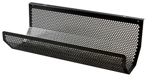 under desk cable tray cms 02b under desk cable tray 500mm black penn elcom