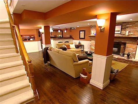 interesting and versatile ways to transform an basement into a stylish useful area