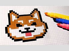 Pixel Art Puppy Easy Draw 2