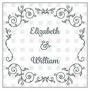 marriage invitation card clipart 85 With wedding invitation card borders free download