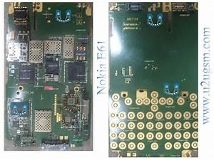 Online Mobile Repairing  Nokia E61 Full Pcb Diagram Mother