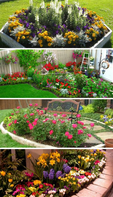 small flower gardens   beautify  outdoor