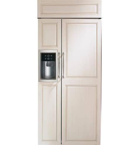 zisbdnii monogram  smart built  side  side refrigerator  dispenser monogram