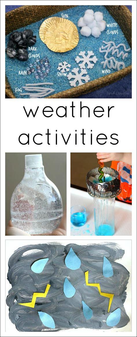 21 awesome ideas for a preschool weather theme preschool
