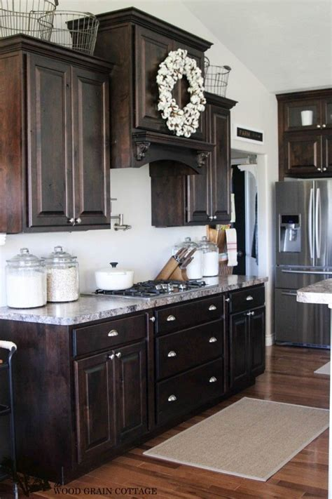 kitchen colours with cabinets the 25 best espresso cabinets ideas on 8237
